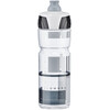 Elite Crystal Ombra Trinkflasche 750ml transparent/grau
